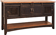 Int'l Furniture Pueblo Black Sofa Table