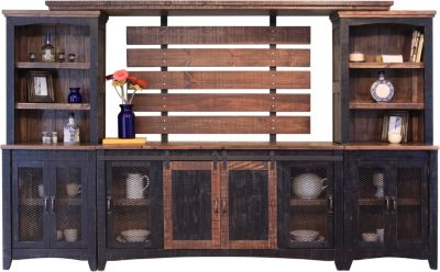 Int'l Furniture Pueblo Black Entertainment Center