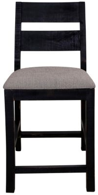 Int'l Furniture Pueblo Black Counter Stool