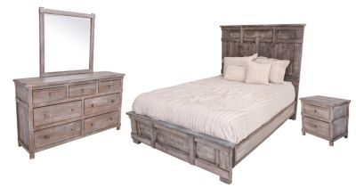 Int'l Furniture San Angelo 4-Piece King Bedroom Set