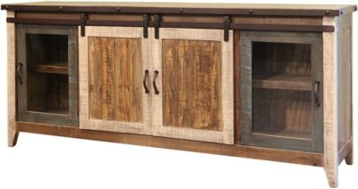 Int'l Furniture Antique 80-Inch TV Stand