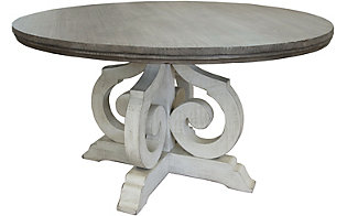 Int'l Furniture Stone Table Top & Base