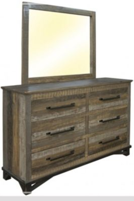 Int'l Furniture Loft Dresser with Mirror