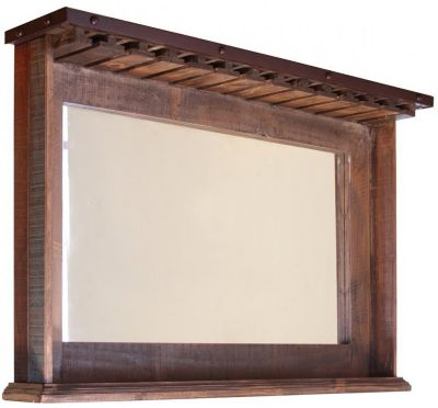 Int'l Furniture Antique Bar Mirror
