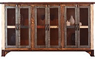 Int'l Furniture Console with Mesh Doors