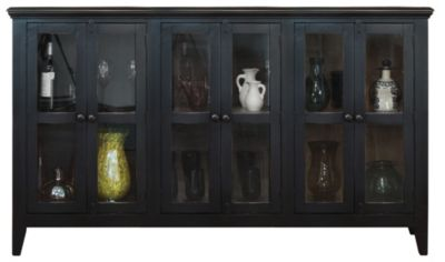 Int'l Furniture Antique Console with 6 Doors
