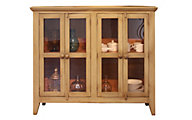 Int'l Furniture Direct Antique Olive Console with 4 Doors