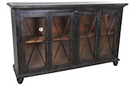 Int'l Furniture Vintage 4-Door TV Console