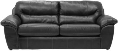 Jackson Brantley Steel Bonded Leather Sofa