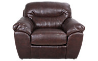 Jackson Brantley Bonded Leather Chair & 1/2