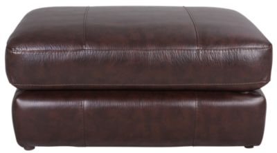 Jackson Brantley Bonded Leather Ottoman