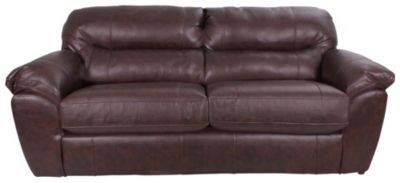 Jackson Brantley Bonded Leather Queen Sleeper Sofa