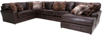 Jackson Denali Chocolate 3-Piece Sectional