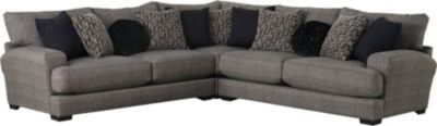 Jackson Ava Pepper 3-Piece Sectional with USB Ports