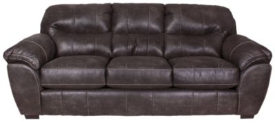 Jackson Grant Steel Bonded Leather Sofa