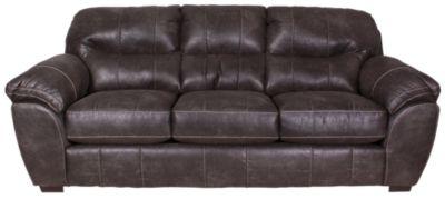 Jackson Grant Steel Bonded Leather Sofa