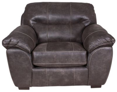 Jackson Grant Steel Bonded Leather Chair ...