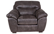 Jackson Grant Steel Bonded Leather Chair & 1/2