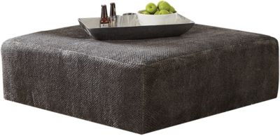 Jackson Mammoth Smoke 40-Inch Cocktail Ottoman
