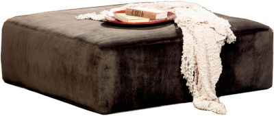 Jackson Everest Chocolate 40-Inch Cocktail Ottoman