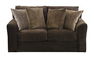 Jackson Midwood Chocolate Loveseat