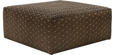 Jackson Midwood Chocolate Cocktail Ottoman