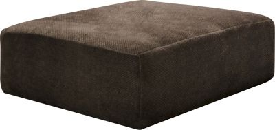 Jackson Mammoth Chocolate 51-Inch Cocktail Ottoman