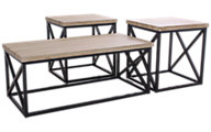 Jofran Orion Coffee Table & 2 End Tables