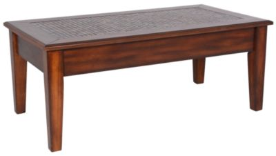 Jofran Baroque Brown Lift-Top Coffee Table