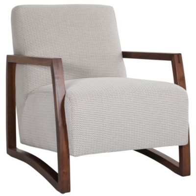 Beau Jonathan Louis Mansfield Wood Accent Chair