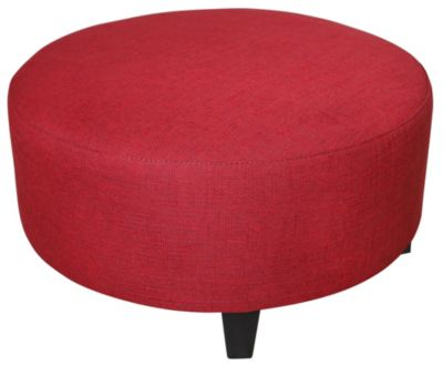 Jonathan Louis Medium Round Ottoman