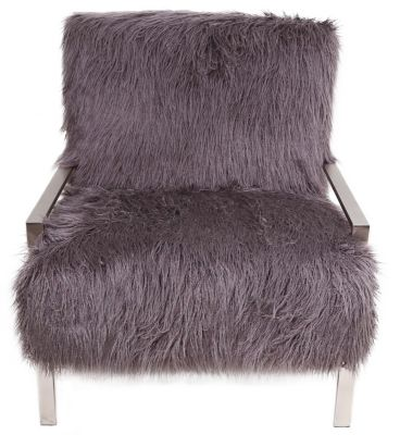 Jonathan Louis Mansfield Faux Fur Accent Chair