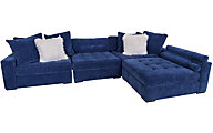 Jonathan Louis Noah 4-Piece Modular Sectional