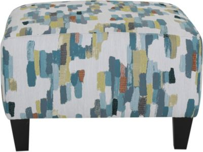Jonathan Louis Small Square Ottoman