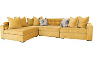Jonathan Louis Noah 4-Piece Sectional
