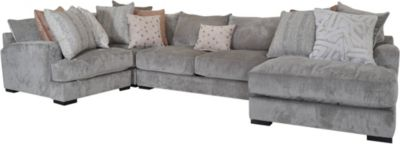 Jonathan Louis Carlin 4-Piece Right-Side Sectional