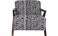 Jonathan Louis Nyla Wood Accent Chair