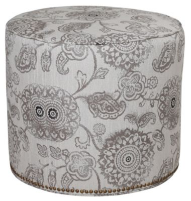 Justice Madison Small Round Ottoman