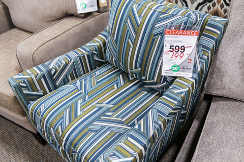 Clearance Center Accent Chairs