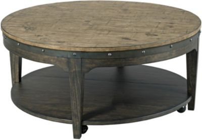 Kincaid Furniture Co. Plank Road Round Coffee Table