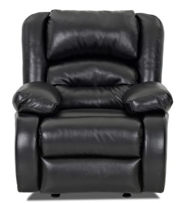 Klaussner Austin Black Reclining Chair