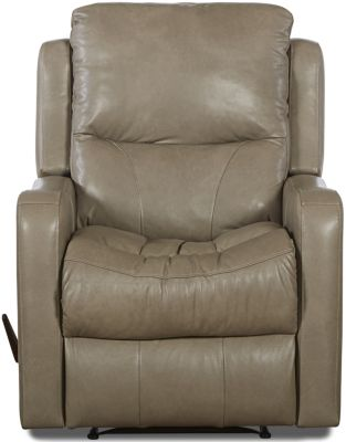 Klaussner Cruiser Leather Rocker Recliner