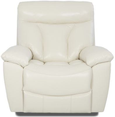 Klaussner Deluxe Leather Rocker Recliner