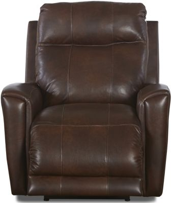 Klaussner Priest Leather Power Recliner