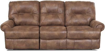 Klaussner Roadster Coffee Power Reclining Sofa