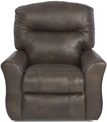 Klaussner Schwartz Leather Power Reclining Chair