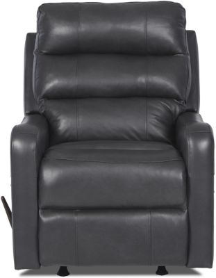 Klaussner Striker Smoke Lay-Flat Recliner