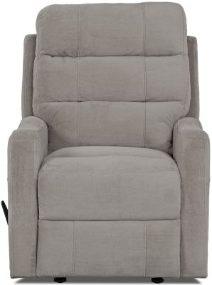 Klaussner Striker Fog Gray Rocker Recliner