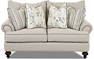 Klaussner Ashworth Loveseat