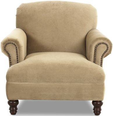 Klaussner Barnum Cream Chair